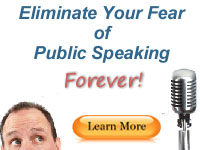 Eliminate Your Fear of Public Speaking